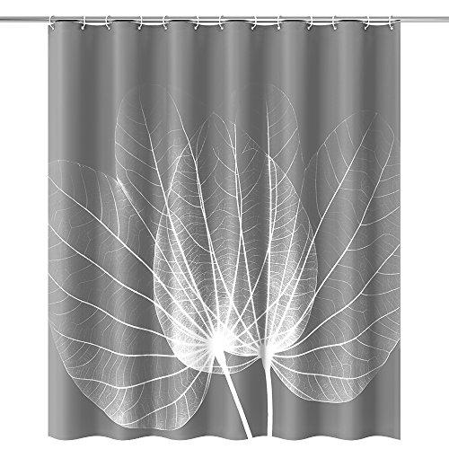 Arbre Colline Polyester,180 x 180 cm Rideau de Douche Imperm/éable avec 12 pcs Crochets Rideau de Douche Tissu htovila Rideaux de Douche Rideau de Douche Anti-moisissure Lavable en Machine
