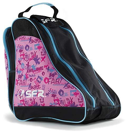 SFR Designer Ice/Roller Skate Carry Bag - Pink Graffiti by SFR