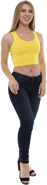 Max 74% OFF Lunarable Women's Tank Crop Racerback Sportswear Genuine Top
