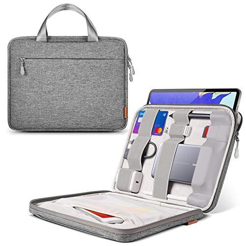 Inateck Tablet Tasche Hülle kompatibel mit 10,2 Zoll iPad 2021/10,2 Zoll iPad 8 2020/11 Zoll iPad Pro M1 2021/2020/10,9 iPad Air 4 2020/10,5 Zoll iPad Air 3 2019/10,5 Zoll/9,7 Zoll iPad Pro/Surface Go