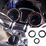 XX eCommerce Motorrad Geschwindigkeitsmesser Tachometer Tacho Techo Schlüssel Ring Deckung