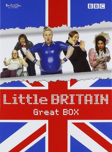 "Little Britain - Great BOX (Die komplette Serie mit den Staffeln 1-3 + Specials ""Abroad"" und ""Live"") [8 DVDs]"
