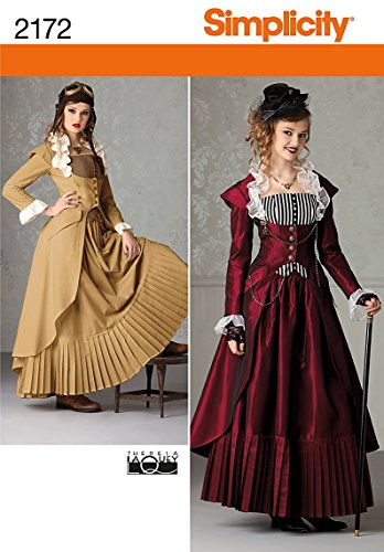 Simplicity R5 14-16-18-20-22 Sewing Pattern 2172 Misses Costume