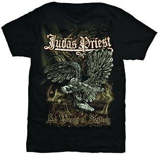 Judas Priest Sad Wings Camiseta Manga Corta para Hombre
