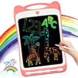 LODBY Toys for 2-10 Year Old Girls Gifts, Colorful LCD Doodle Drawing Board for Toddler Gifts for 3 4 5 6 Year Old Girls Birthday Gifts Age 2-6, Kids Writing Pad Drawing Tablet for Girls Toys Age 2-8