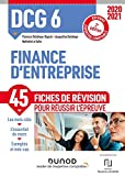 DCG 6 Finance d'entreprise - Fiches de révision - 2020/2021: Réforme Expertise comptable