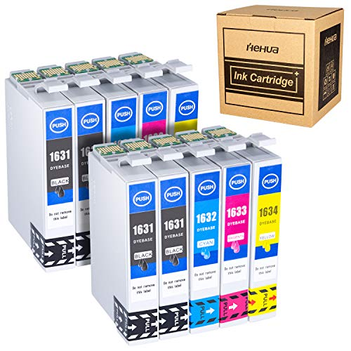 Hehua 16XL Compatible Cartuchos Tinta Epson 16 16XL