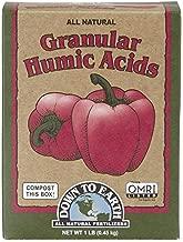 Down to Earth 17827 Granular Humic Acids Fertilizer Mix, 1 lb