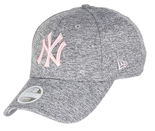 New Era New York Yankees 9forty Adjustable Women Cap MLB Rear Logo Grey/Rose - One-Size