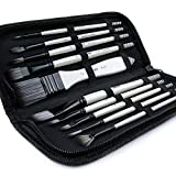 Best Oil Paint Brushes - ARTIFY 10 Pcs Paint Brush Set Includes a Review