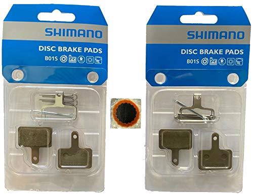 Bremsbeläge Shimano B01S Resin in Original-Verpackung 2 Stück, Fahrrad, E-Bike