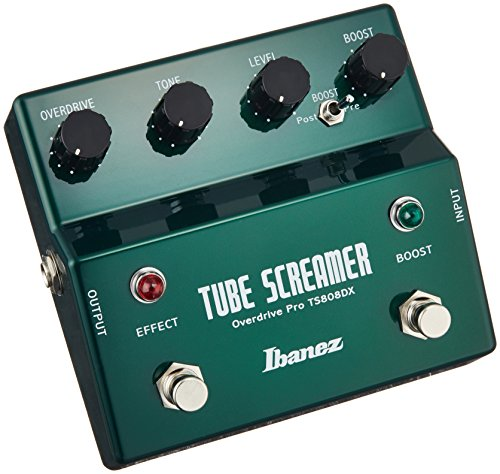 Ibanez TS808 DX Tube Screamer Overdrive Pro