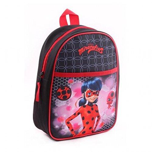 Miraculous Ladybug Rucksack Kinderrucksack Kindergartentasche ca 28cm