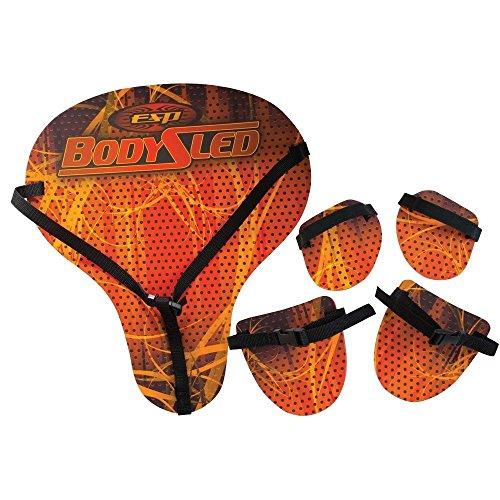 Emsco Group ESP Body Sled Set – Adjustable Straps, Wearable Padded Foam Parts – 5-Piece Sled