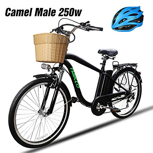 NAKTO Adult Electric Bike 250W E-Bike