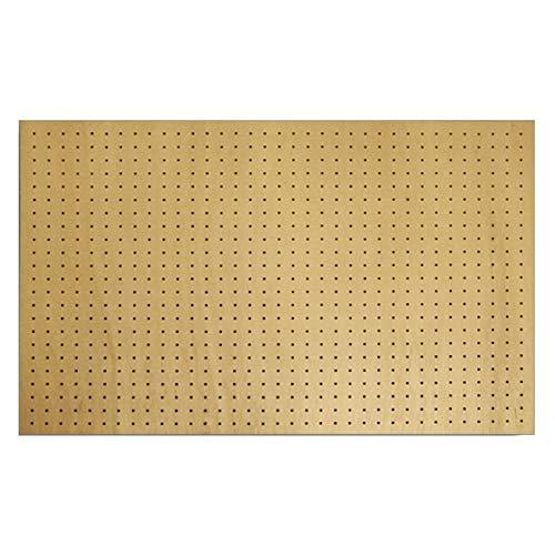 有孔ボード ラワン合板無塗装1/3サイズ(4ミリ厚x横900ミリx縦600ミリ)穴径5ミリ穴ピッチ25ミリ 1枚入り