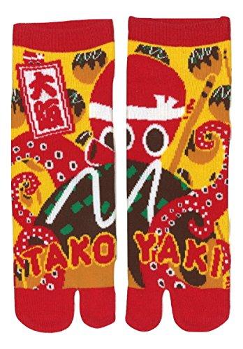 Calcetine Tabi Design Takoyaki
