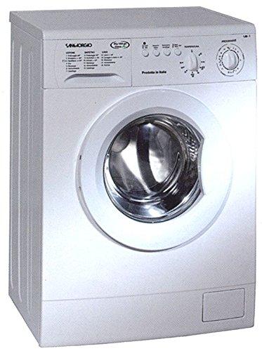 Waschmaschine San Georgio S4208B, Freistehend, Frontlader Kapazität 5 kg, Schleudergang 800 U/min, Energieeffizienzklasse A+, Weiß