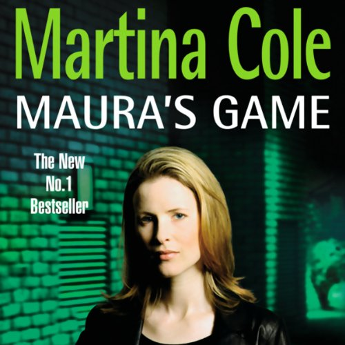 Maura's Game audiobook cover art