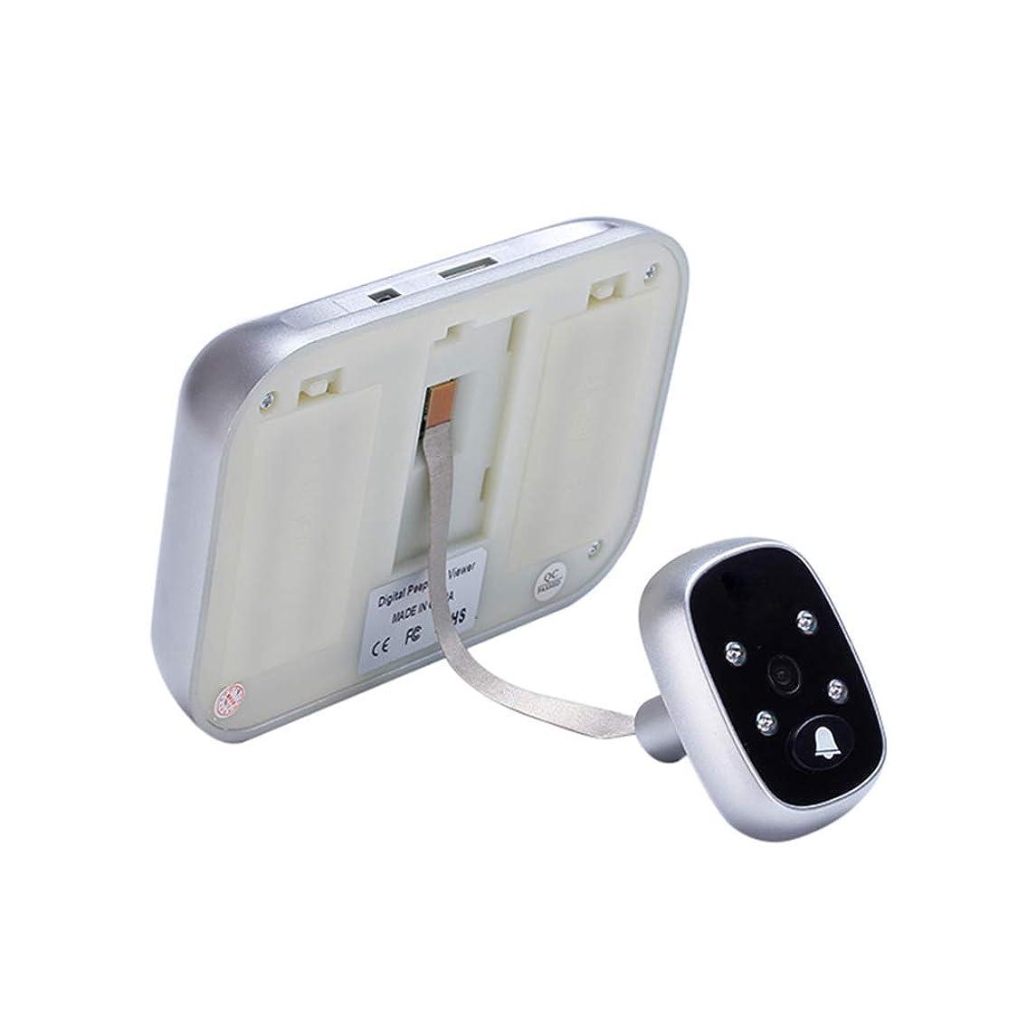 承認水陸両用オズワルド5.0インチTFTカラースクリーンディスプレイホームスマートドアベルセキュリティドアのぞき穴電子キャットアイ
