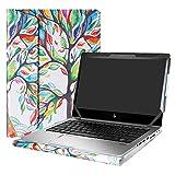 "Foto Alapmk PU Custodia Protettiva per 13.3"" HP EliteBook 830 G5 G6/EliteBook 735 G5 G6 & HP ProBook 430 G6 G7 Laptop(Warning:Not Fit EliteBook 830 G4/G3 & ProBook 430 G5/G4/G3),Love Tree"