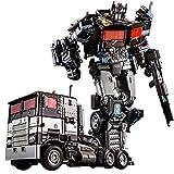 Transformers 5: The Last Knight Optimus Prime Transformers, Transformers: The Last Knight Commander Optimus Prime, robot trasformatore giocattolo,Optimus Prime,regalo di compleanno o regalo di Natale