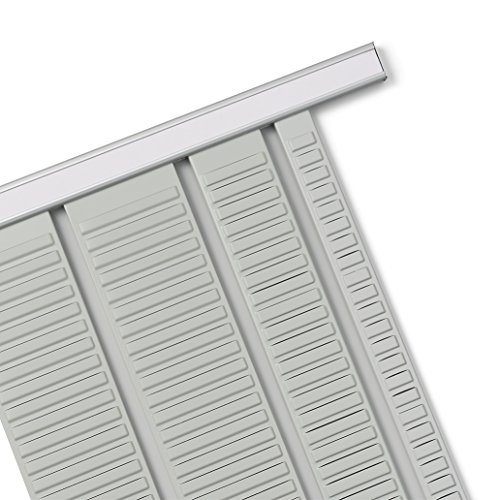 Nobo 1900411 Kartentafel-Zubehör Rahmenprofil für Stecksystem, Index 15, 2 Stück