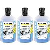 Kärcher RM 610 Autoshampoo 3-in-1 1000ml, 3er Pack (3 x 1000ml)