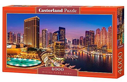 Castorland C-400195-2 Puzzle Marina Pano, Dubai 4000 Teile, bunt