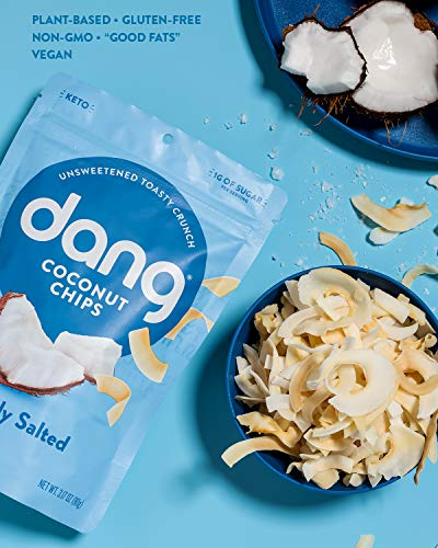 Dang Toasted Coconut Chips Package Nutrition