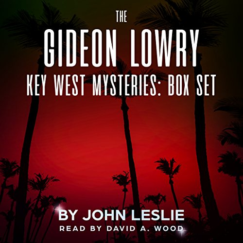 The Gideon Lowry Key West Mysteries: Box Set audiobook cover art