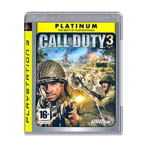 Call of Duty 3 (PLATIUNUM) (PS3) (New)