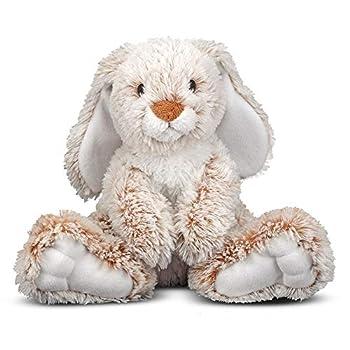 Melissa & Doug Burrow Bunny Rabbit Stuffed Animal  9 inches