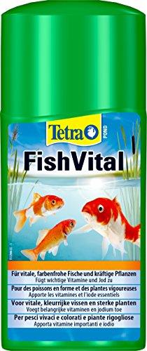 Tetra Pond AquaFit (vitale kuur voor natuurlijke wateromstandigheden voor vissen, planten en micro-organismen in de tuinvijver), 250 ml fles