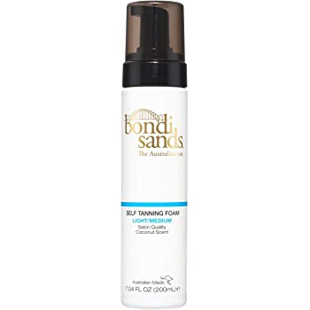 Bondi Sands Self Tanning Foam | Lightweight, Self-Tanner Foam Enriched with Aloe Vera & Coconut Provides a Streak-Free Tan