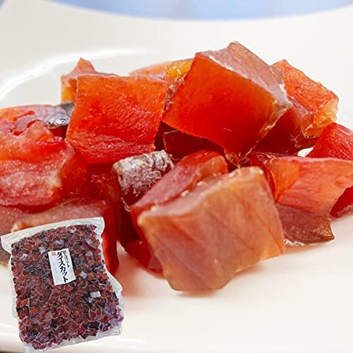 鮭とば ダイス 500g 北海道産 チャック付 鮭トバ 業務用 燻製 おつまみ 肴 干物 珍味 グルメ 国産 ゆうパケ 虎