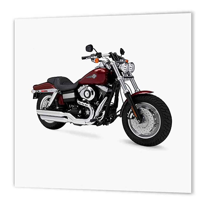 3dRose ht_4662_1 Iron on Heat Transfer Paper Picturing Harley-Davidson No.174 Motorcycle Dyna Fxd