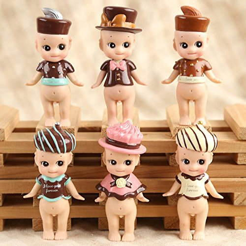 Top Top Sonny Angel Valentijnsdag 2015 Melk Aardbei Wit Donkere Chocolade 6 Stks Set
