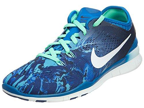 Nike Chaussure de Training Free 5.0 TR Fit 5 Print pour Femme - Bleu - 39
