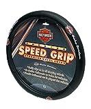Plasticolor 006393 Black Steering Wheel Cover (Harley Speed Grip)