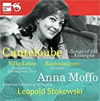 Canteloube: Songs of the Auvergne by Moffo (2011-10-25)