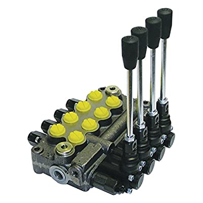 Prince Hydraulic Control Valve - 8 GPM, 4-Spool, Model# MB41BBBB5C1 by Prince