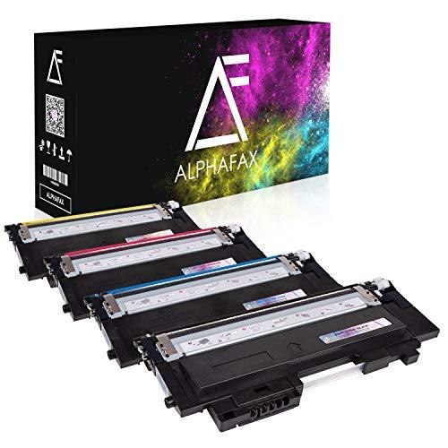 4 Toner kompatibel mit Samsung Xpress C430W C480W C480FW Farblaserdrucker für CLT-P404C P404C CLT-K404S CLT-C404S CLT-M404S CLT-Y404S