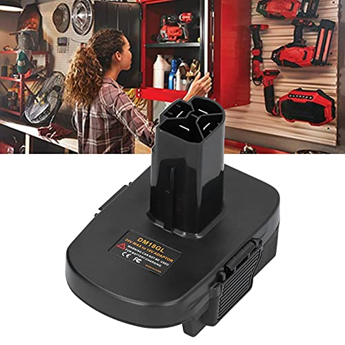 Batterikonverterare, batteriadapter Enkel omvandling av litiumbatteri till nickelbatteri utan återköp av verktyg för batteriadapter