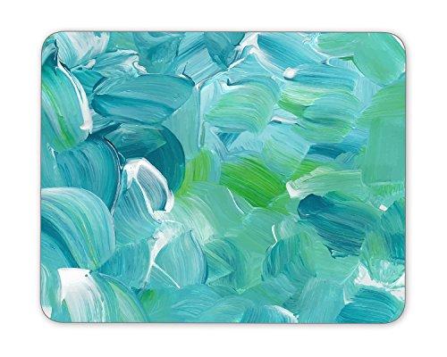 "Turquoise blue oil paint texture Mouse Pad mouse mouse pad Mouse Pad Pad Office Mouse Pad Gaming Mouse Pad Mat Mouse Pad mousepad Dimension: 9.5"" x 7.9"""