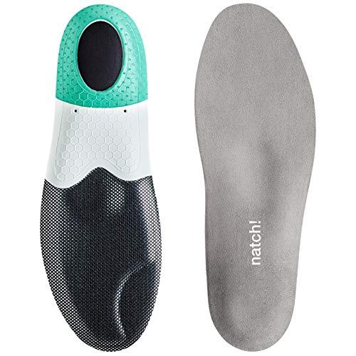 natch! Energy 8 Sport-Fußbett für extremen Kälteschutz, Stabilisierung des Fußes, weichem Tragegefühl sowie effektive Druckentlastung der Gelenke – ideal für Sport- und Freizeit, Größe 44