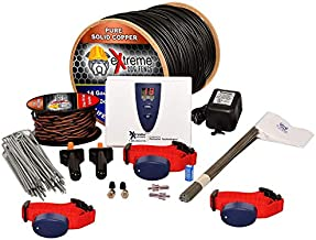 Underground Electric Dog Fence Ultimate - Extreme Pro Dog Fence System for Easy Setup and Maximum Longevity and Continued Reliable Pet Safety - 3 Dog | 500 Feet Pro Grade Dog Fence Wire