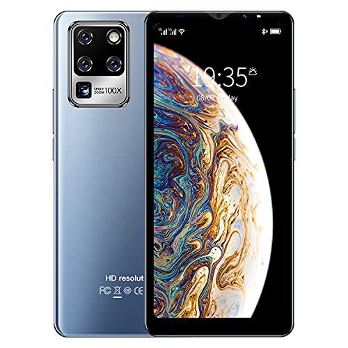 3G Cellulari e Smartphone, 5.5 inch IPS Display, Android OS, 4GB ROM 32GB Espandibili, Batteria 2800mAh, Dual SIM Doppia Fotocamera Telefono Cellulare in Offerta GPS WIFI Bluetooth (S30U-Blue)
