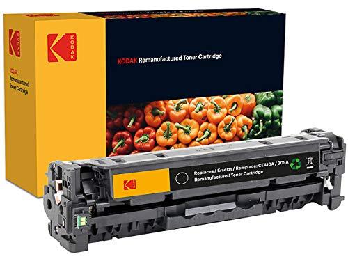 Kodak Supplies 185H041001 Cartucho de tóner 2200 Lados negro adecuado para Hewlett Packard LJPRO300 compatible también CE410A/305A