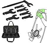 Compatible for Jeep, Ford, GM,Chrysler 43300 Tool Pneumatic Fan Clutch Wrench Set Clutch R...